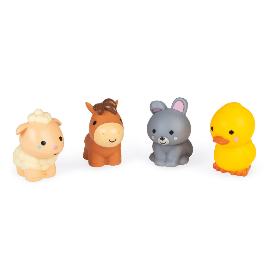 Janod koupelové hračky  - farma 4 kusy