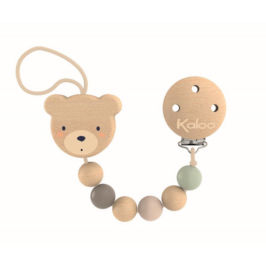 Kaloo ® kedjebjörns hem napp