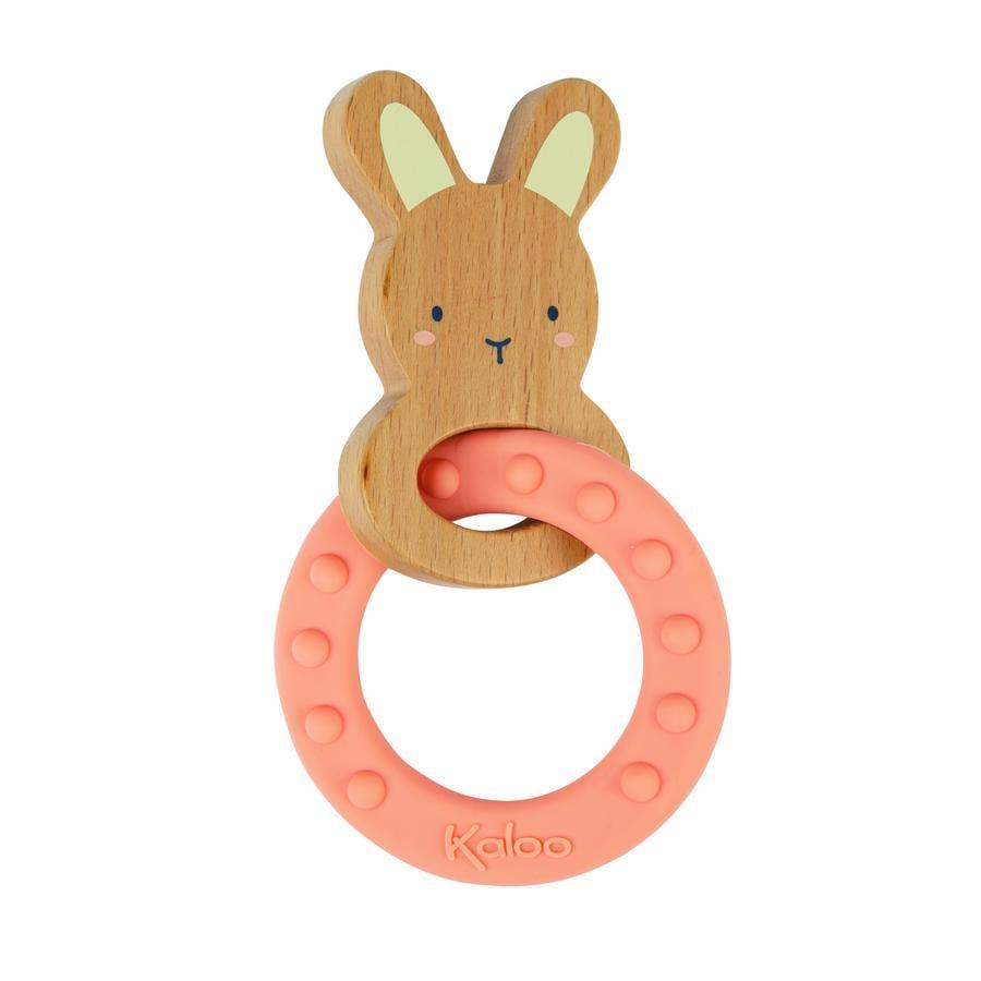 Kaloo ® Hogar de la liebre del anillo de dentición