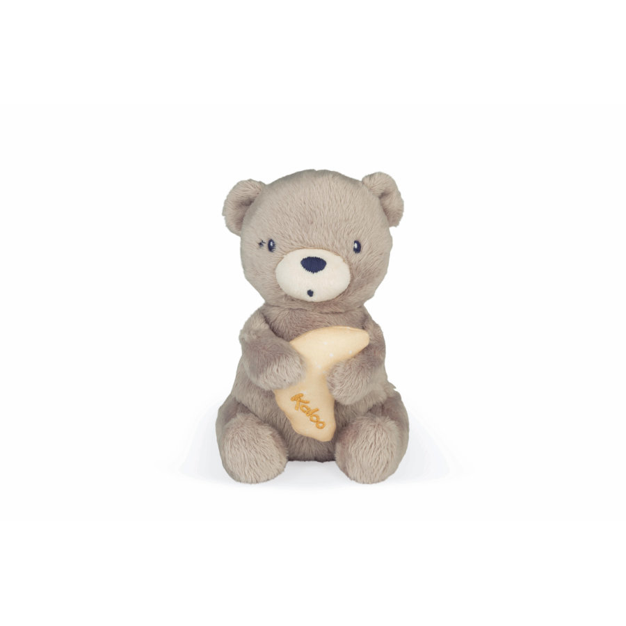 Kaloo® Peluche musicale Home ours, 16 cm