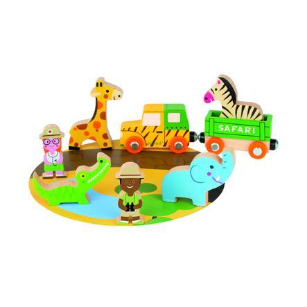 Janod ® Verhaal Miniset Safari