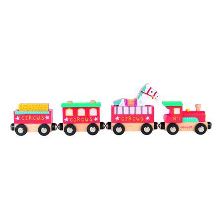 Janod ® Story Train Safari z figurą