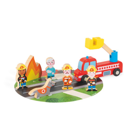 Janod ® Story Mini Set Fire Brigade