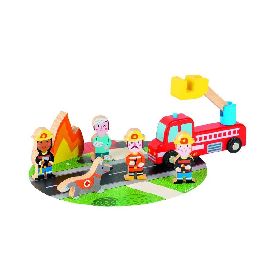 Janod® Story Mini-Set Feuerwehr
