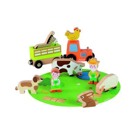 Janod® Story Mini-Set Bauernhof