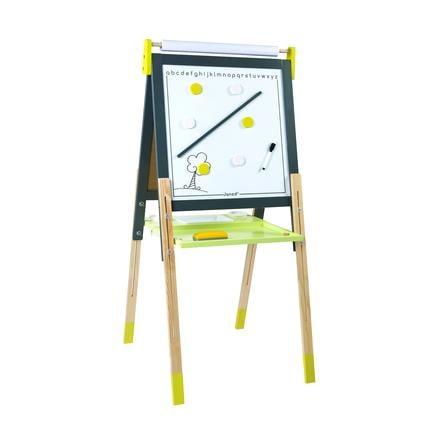 Janod® magnet- og kritttavle, gul / grå