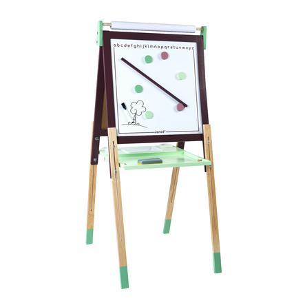 Janod ® magnetico e lavagna di gesso, marrone/turchese
