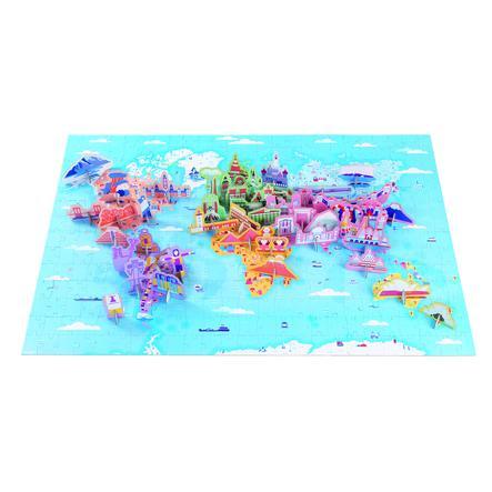 Janod vzdělávací puzzle divy světa 350 kusů