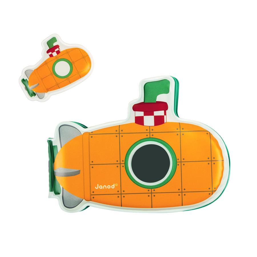 Hračky Janod ® Bath - Kniha činností, ponorka