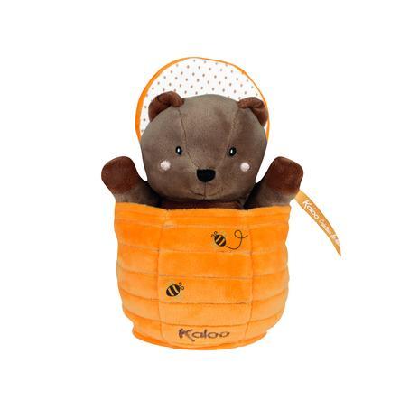 Kaloo ® Kachoo ruční loutkový medvídek Ted v medonosných