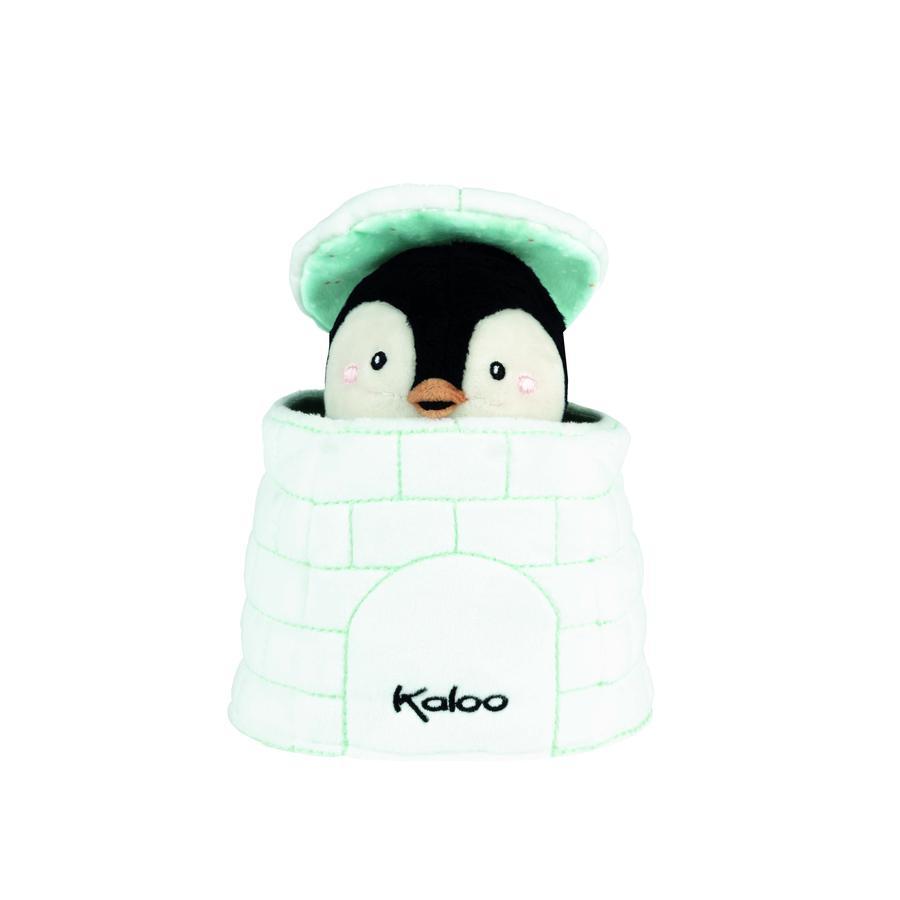 Kaloo ® Kachoo Hand Puppet Pinguin Gablin in Igloo
