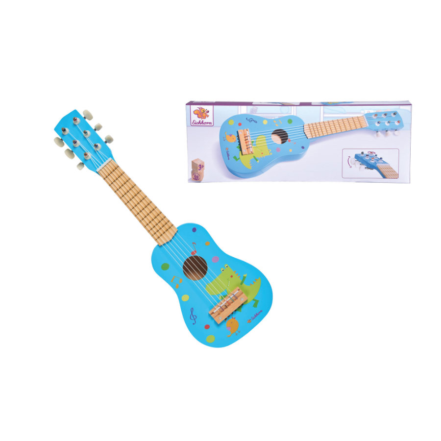 Eichhorn Música guitarra de madera