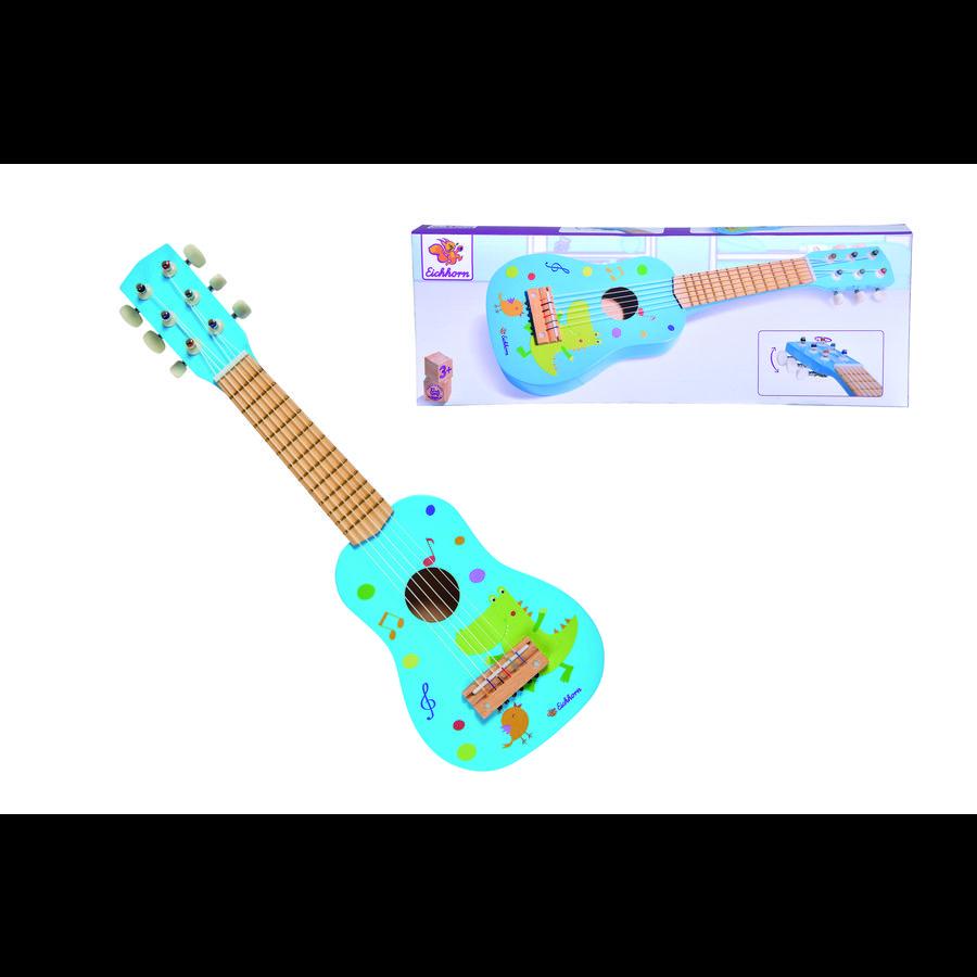 Eichhorn Muzyczna gitara drewniana