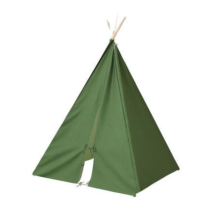 Kids Concept® Tipi enfant, vert bois