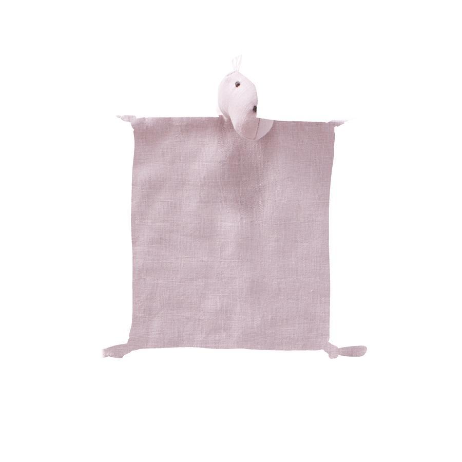 Kids Concept ® hadí textilie Dino prádlo 24x26 cm, růžové
