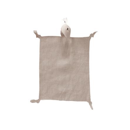 Kids Concept® Szmacianka/przytulanka Dino Len 24x26 cm, naturalny