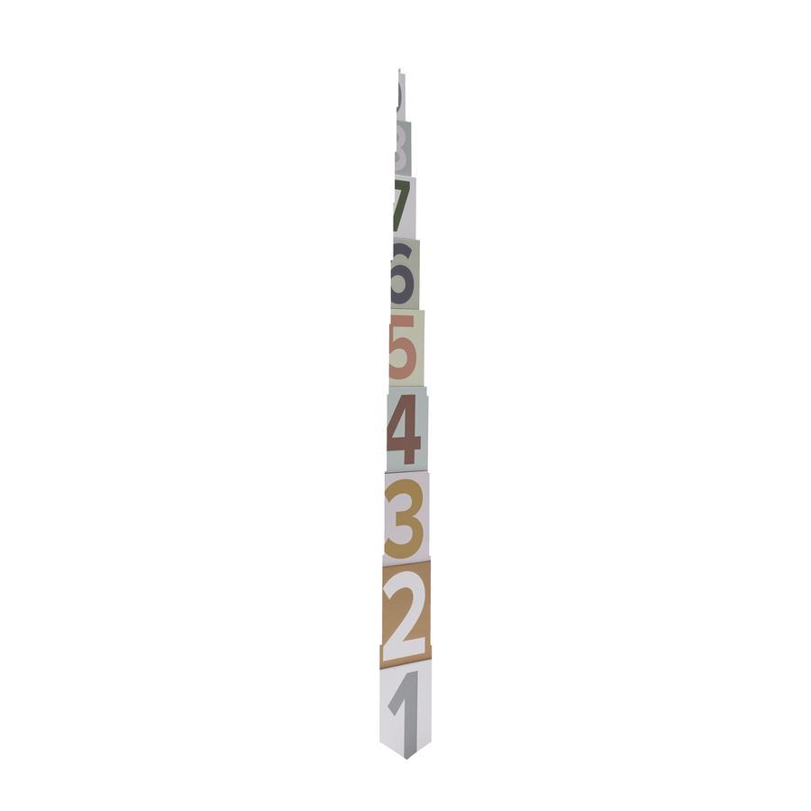Kids Concept® Pappwürfel 1-10 Edvin