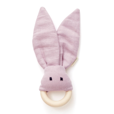Kids Concept ® Tandring ring kanin, lyserød