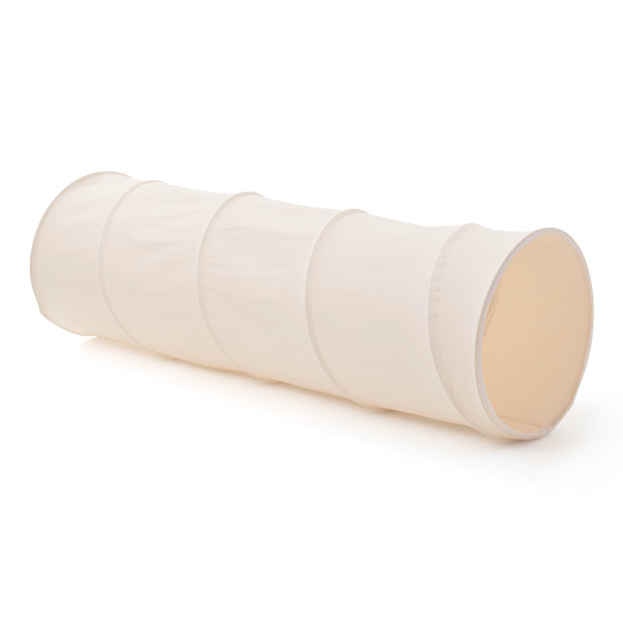 Kids Concept® Spieltunnel Stoff, beige