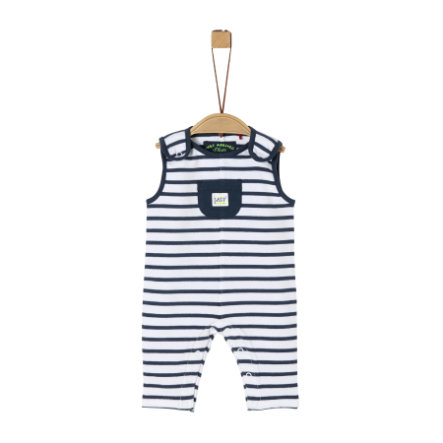 s.Oliver Overall ocean blue stripes