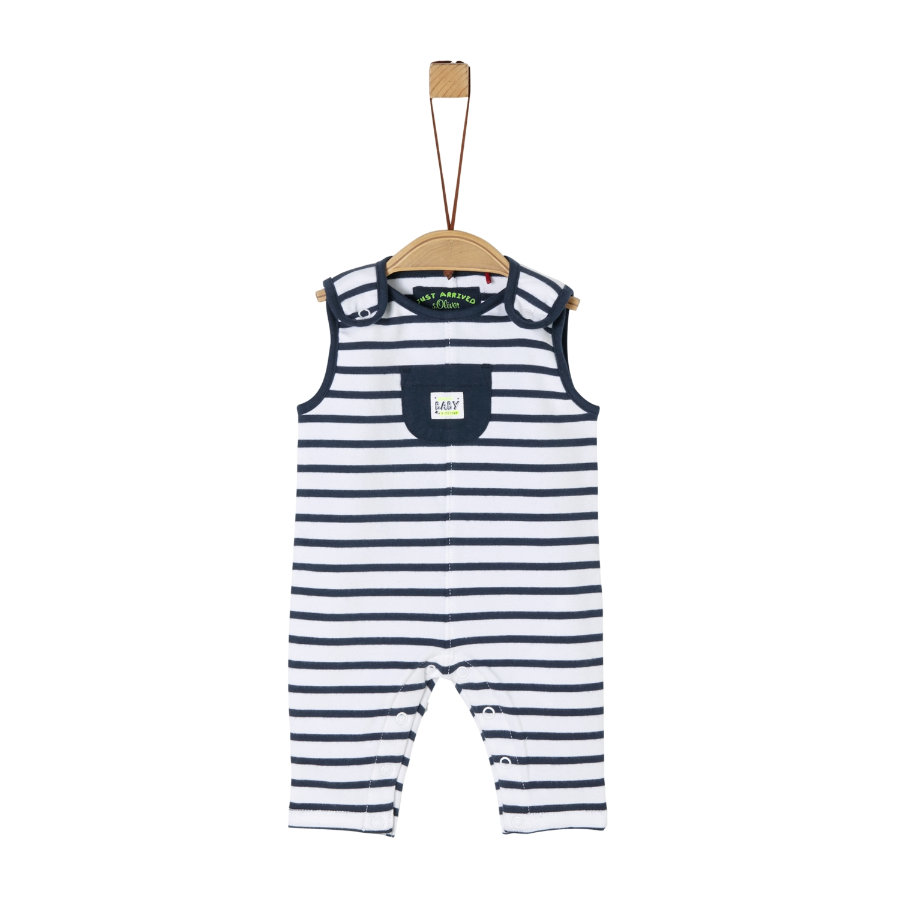 s. Oliver Overall Atlantic blue strip
