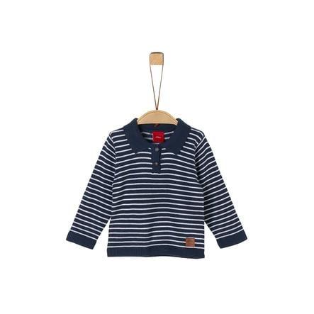 s.Oliver Pullover blue stripes