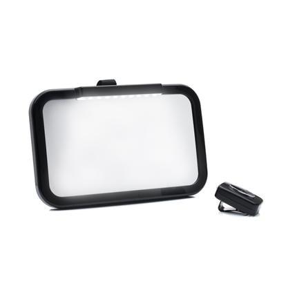 fillikid Autospiegel mit LED Schwarz