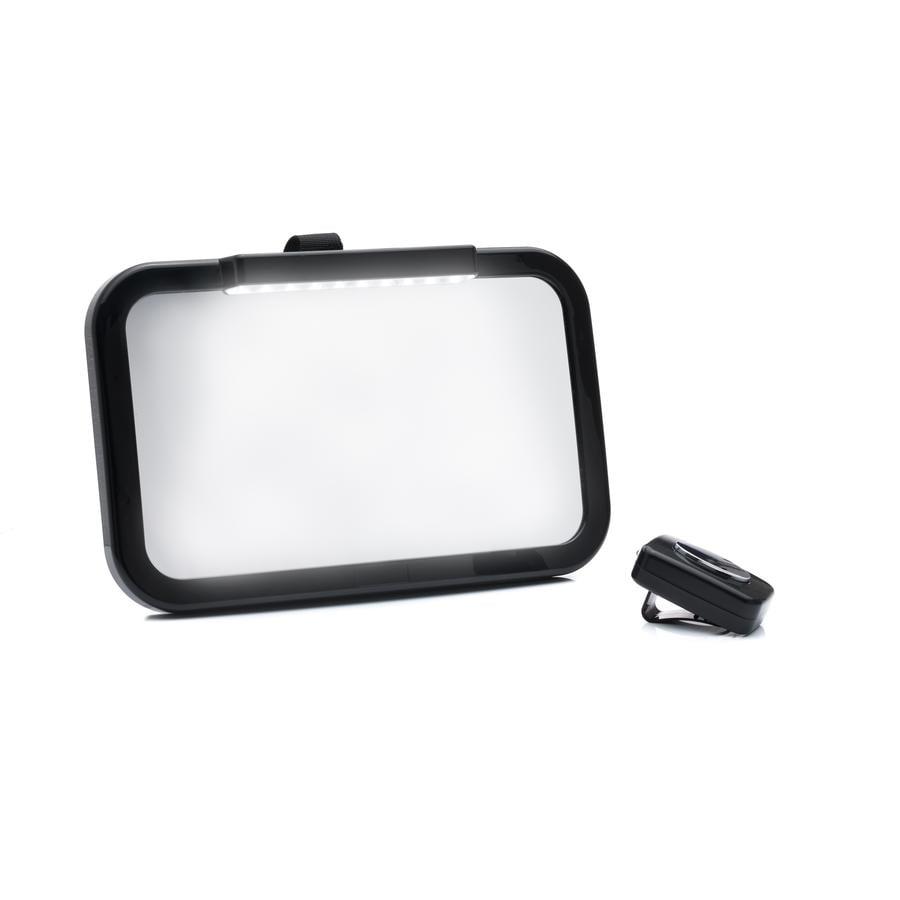 fillikid  Specchietto auto con LED nero