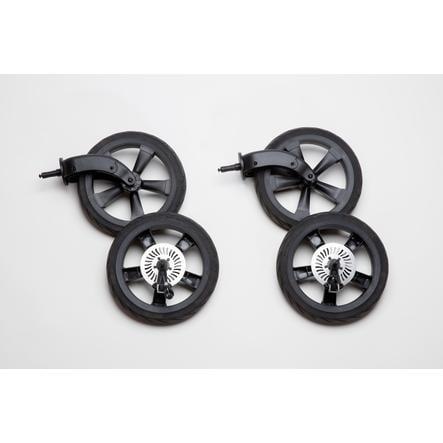 juego de ruedas de la cámara de aire tfk Schiel Duo Black