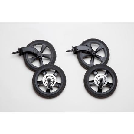 tfk set di ruote per camera d'aria Schiel Duo Black