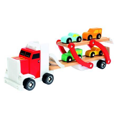 Bino LKW mit Autos