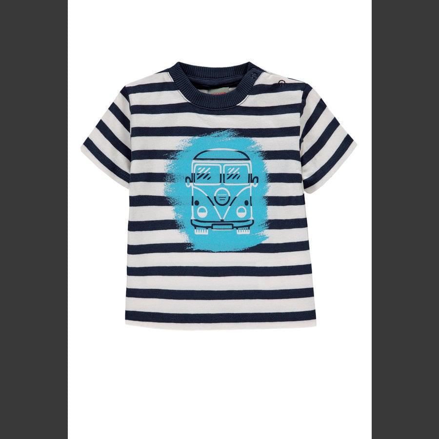 KANZ Jongens T-shirt, y/d strip|multi color ed