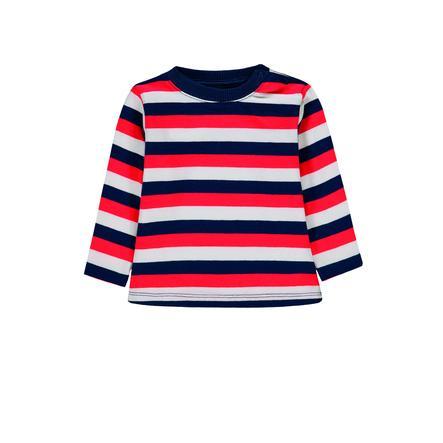 KANZ Ragazzi camicia a maniche lunghe, maglia a y/d stripe|multi color ed