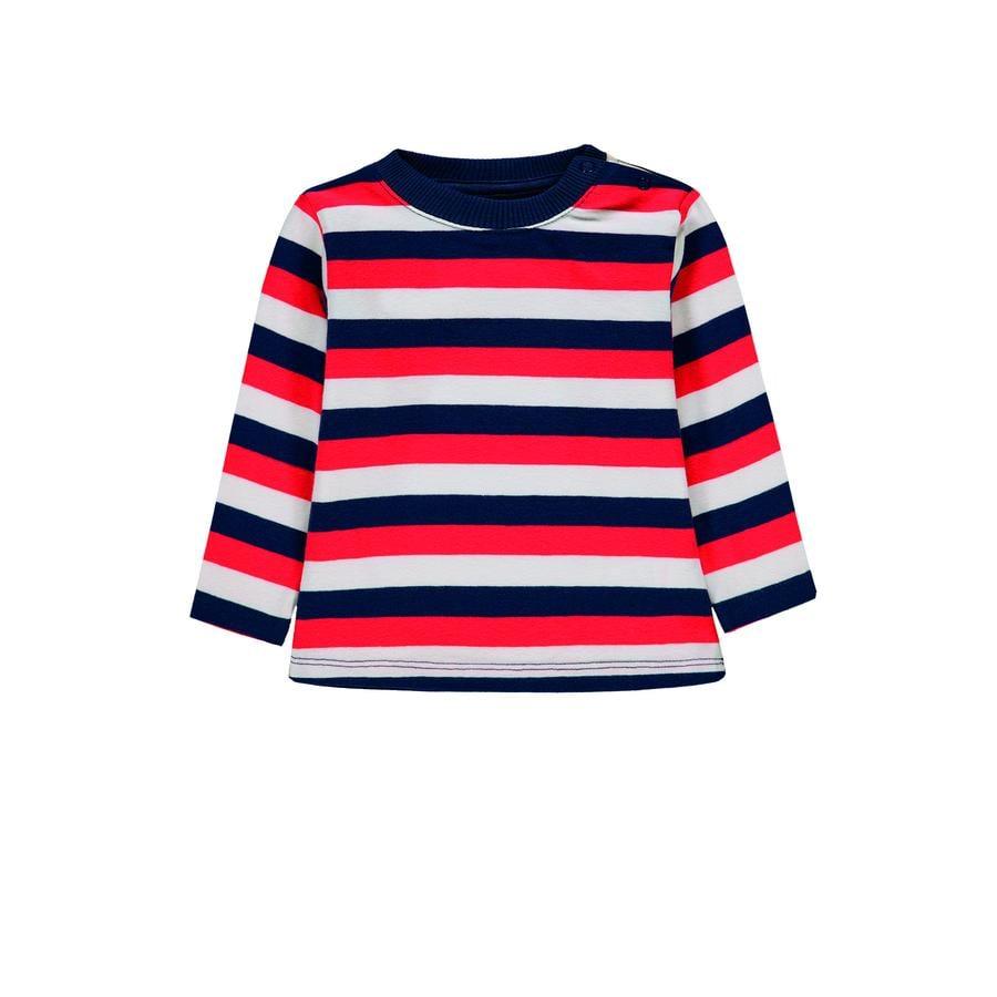 KANZ Jongens shirt met lange mouwen, y/d strip|multi color ed