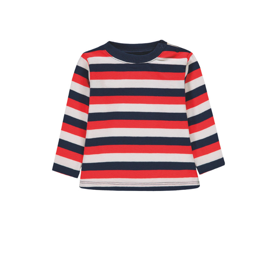 KANZ Koszula chłopięca z długim rękawem, y/d pasek multi color ed