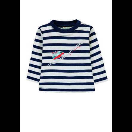 KANZ Boys Langarmshirt, y/d stripe|multicolored