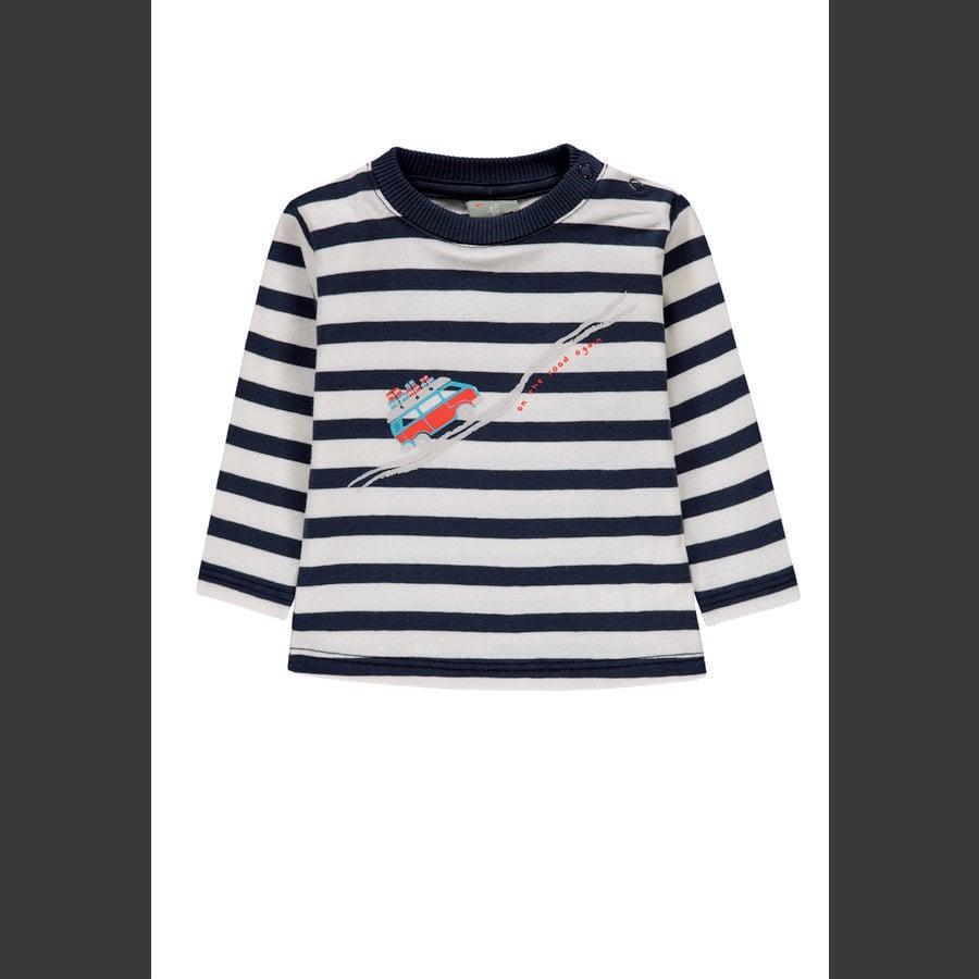 KANZ Chlapecká košile s dlouhým rukávem, pruh y / d | vícebarevná ed