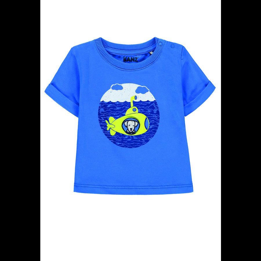 KANZ Camiseta de niño, azul palacio...