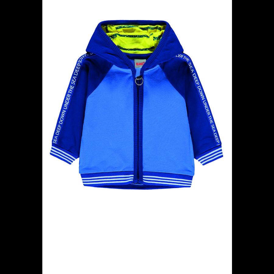 KANZ Chlapecká mikina s kapucí, palác modrá