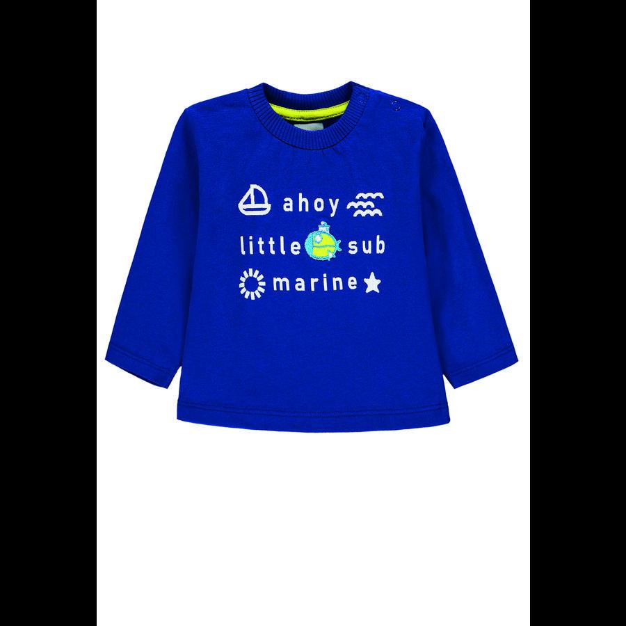 KANZ Chlapecká košile s dlouhým rukávem, monako modrá | modrá