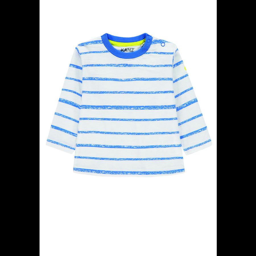KANZ Jongens Lange Mouw Shirt,  multi allover color ed
