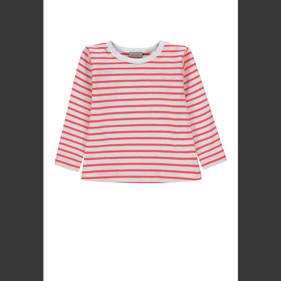KANZ Girls Langarmshirt, y/d stripe|multicolored