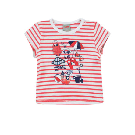 KANZ Girls T-shirt y/d strip multi color ed