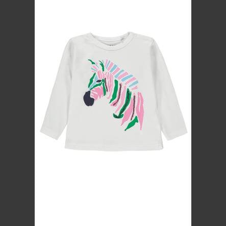 KANZ Dívčí košile s dlouhým rukávem, b pravá bílá | bílý