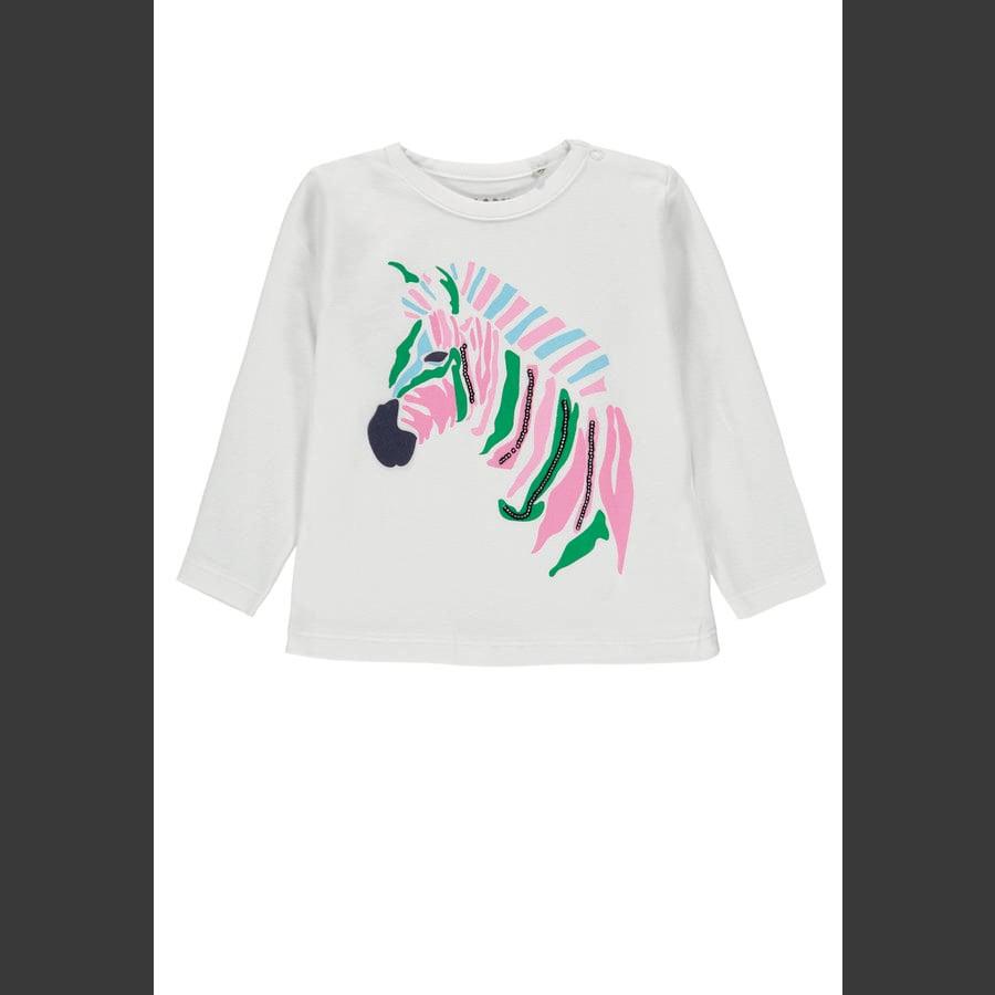 KANZ Girls Langærmet skjorte, b højre hvid | hvid