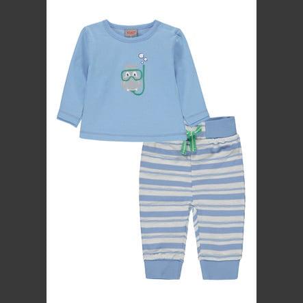 KANZ Set de bebé de 2 piezas azul plácido...