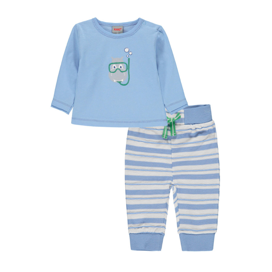 KANZ Baby Set 2-tlg placid blue|blue