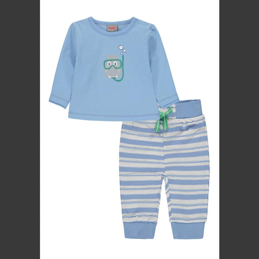 KANZ Babyset 2-delig placideblauw