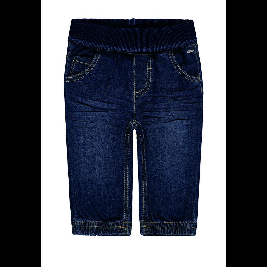 KANZ Dětské kalhoty modrý denim | modrý