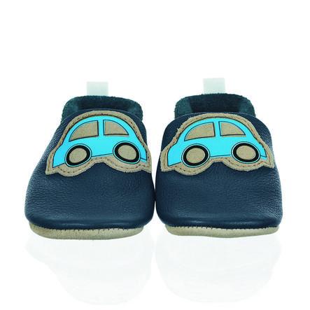 Sterntaler Baby procházení kůže obuvi námořní